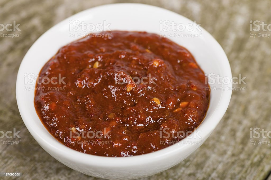 Ssamjang (??) stock photo