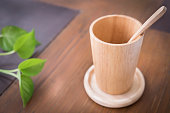 sSet of Wooden Cup
