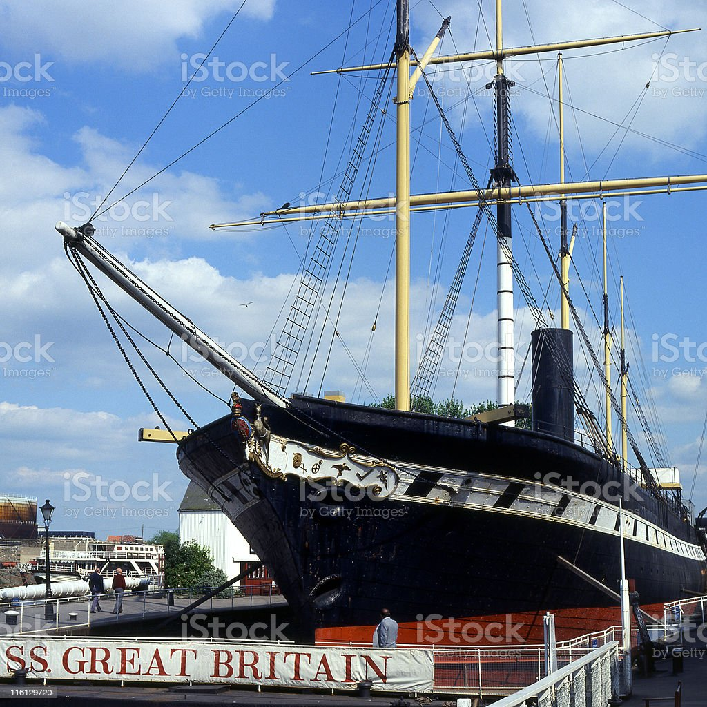 S.S.Great Britain at Bristol, England stock photo