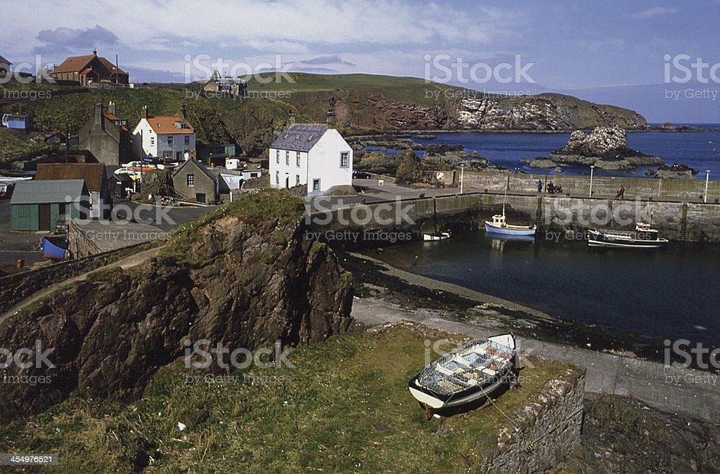 St. Abbs Berwickshire Scotland stock photo