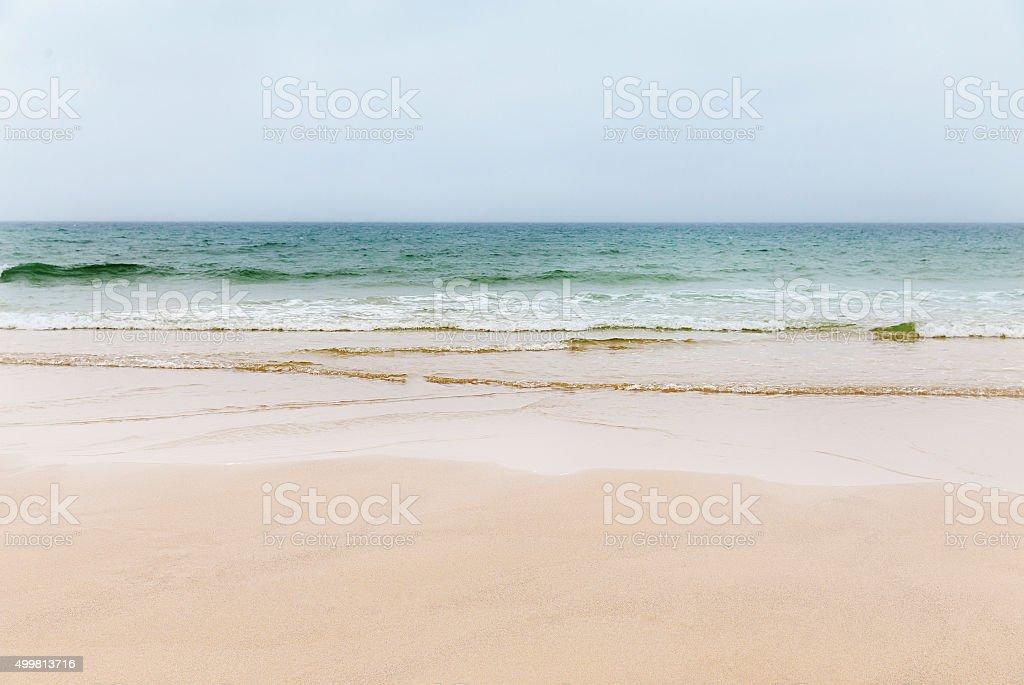 St Agnes beach, Cornwall, England stock photo
