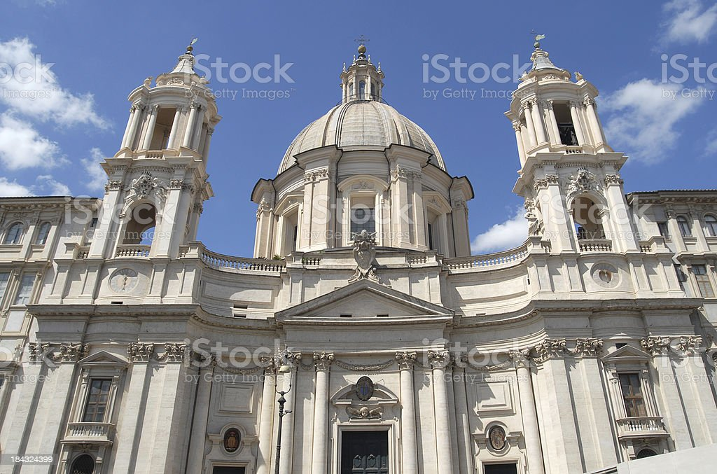 St. Agnes in Agony royalty-free stock photo