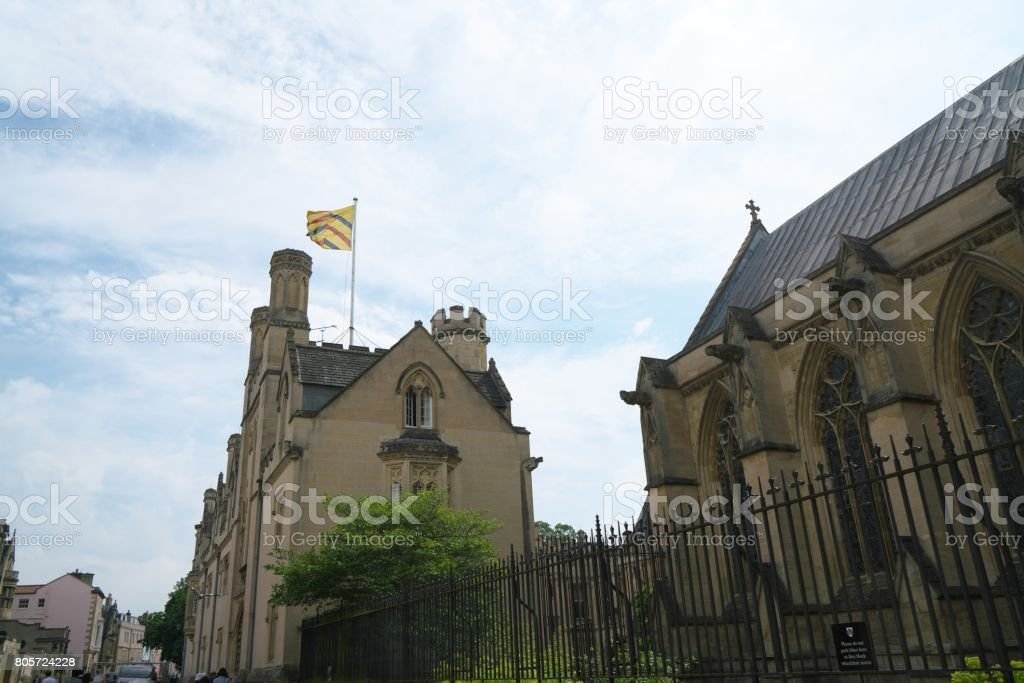 St Alban Hall, Oxford stock photo