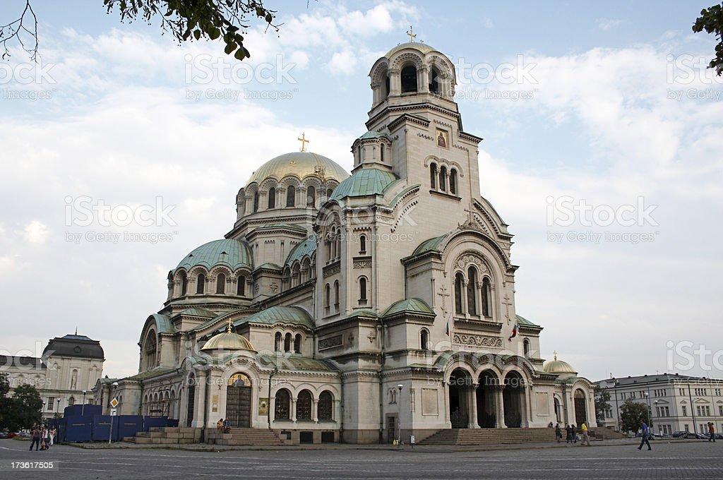 St Alexander Nevski Cathedral  2 royalty-free stock photo