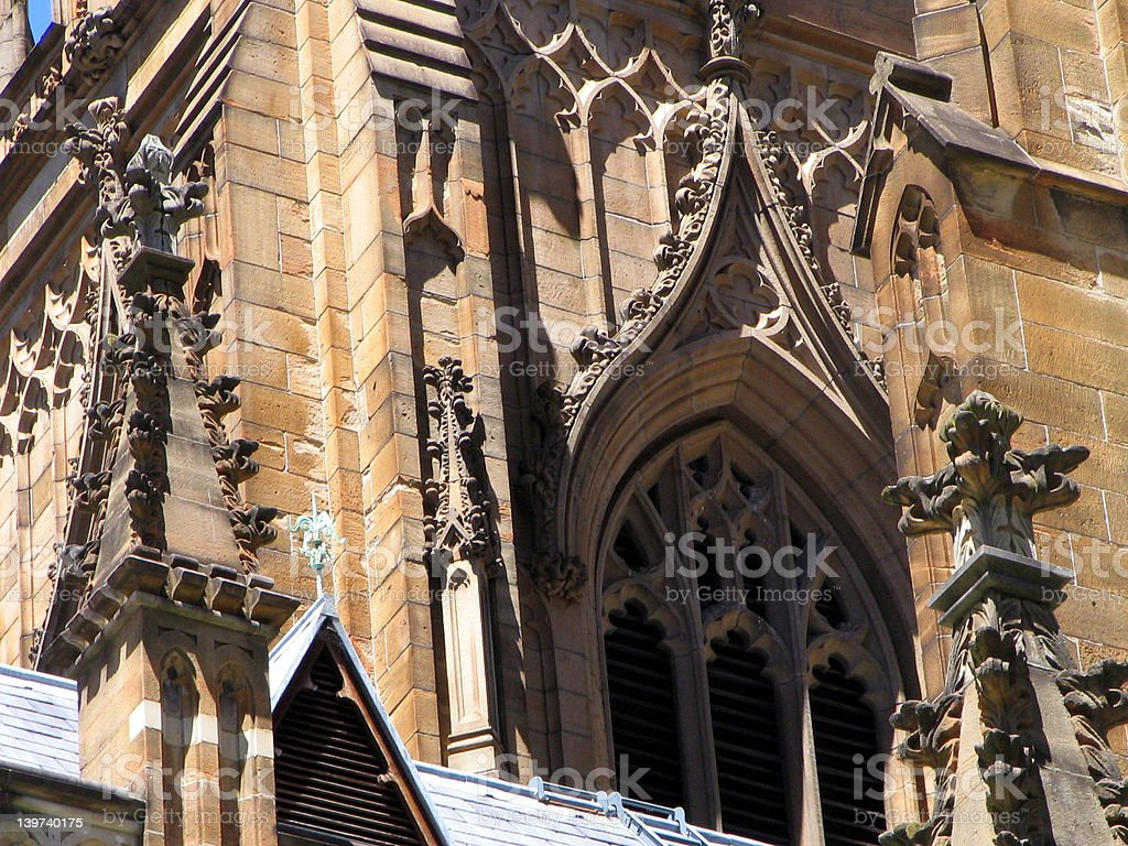 St Andrew's Cathedral royalty-free stock photo