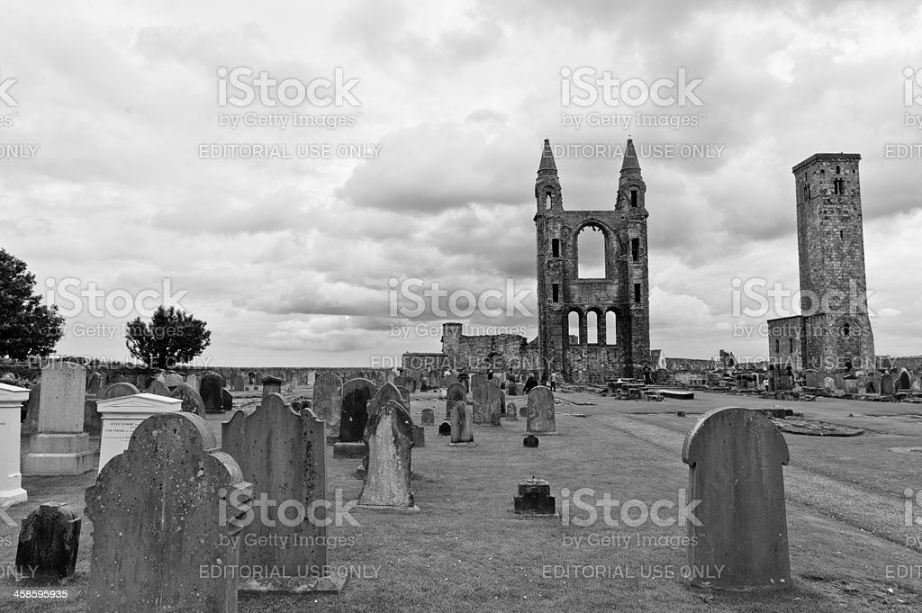St. Andrews Cathedral royalty-free stock photo
