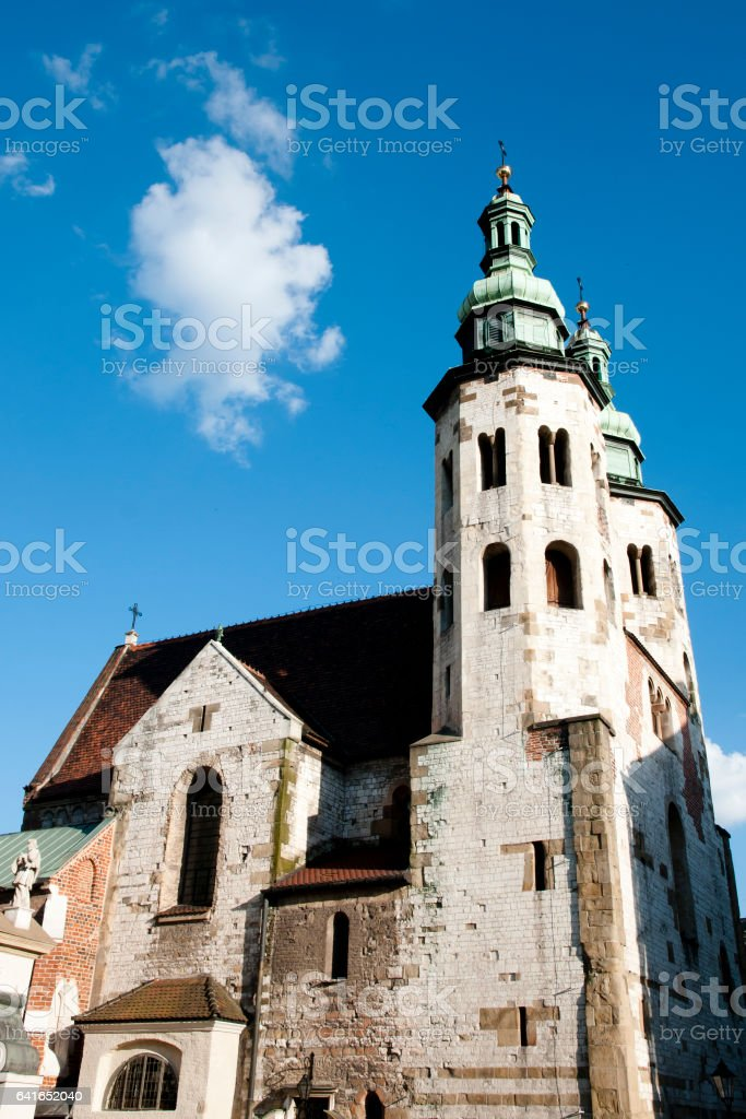 St Andrew's Church - Krakow - Poland stock photo