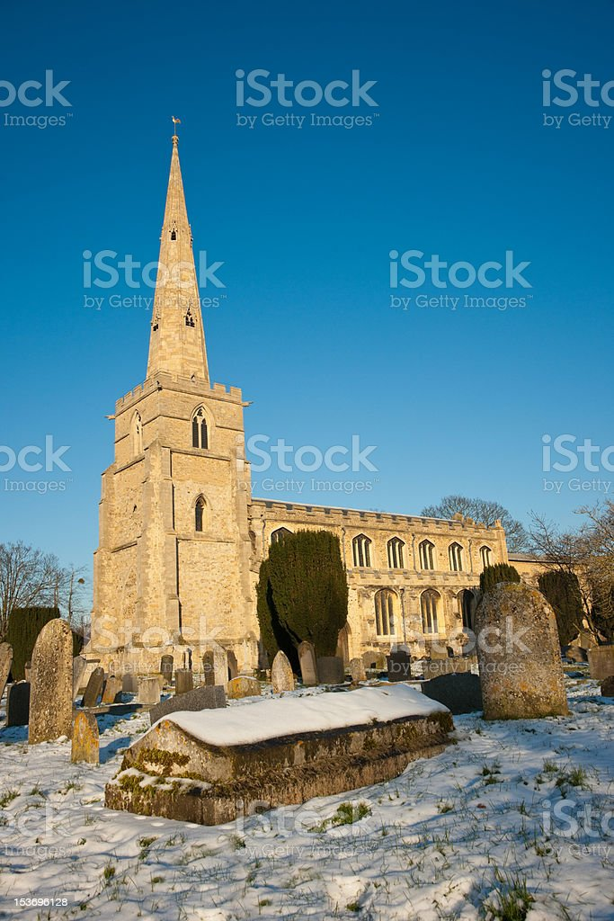 St Andrews Church stock photo