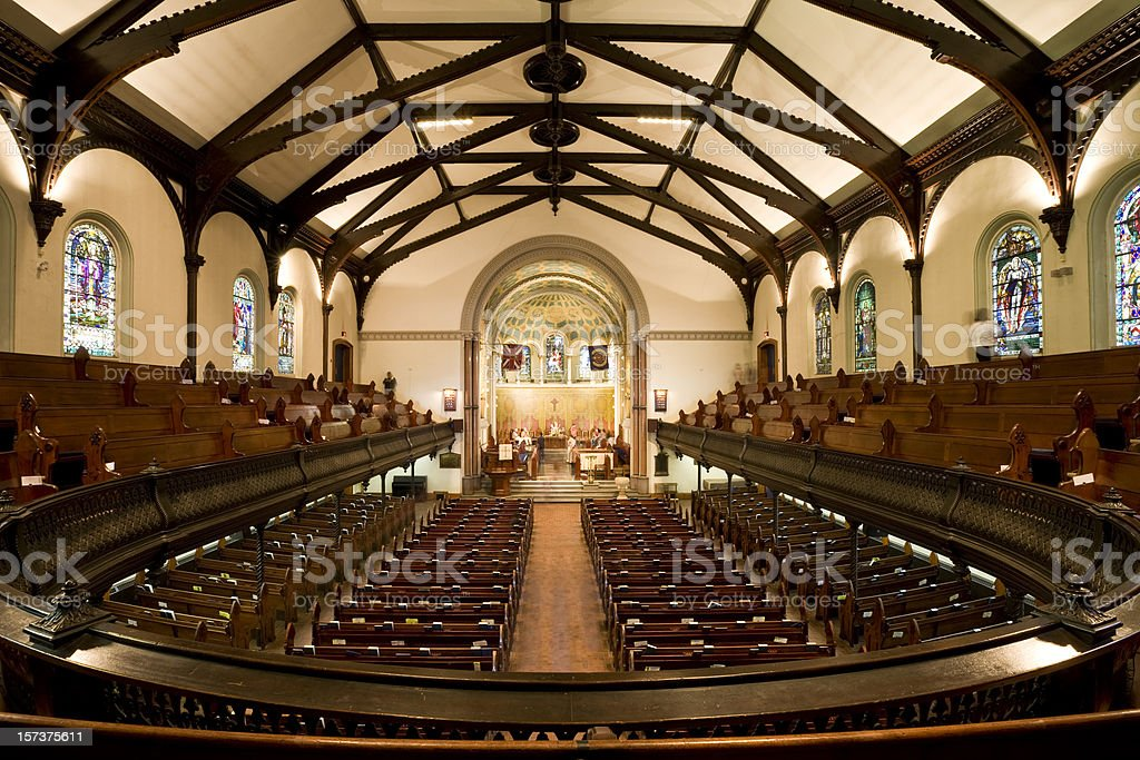 St Andrew's Church Toronto stock photo