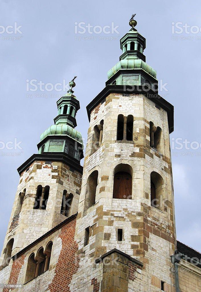 St Andrew's in Krakow royalty-free stock photo