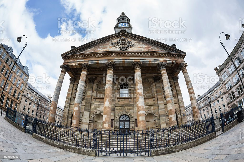 St Andrews In The Square, Glasgow royalty-free stock photo