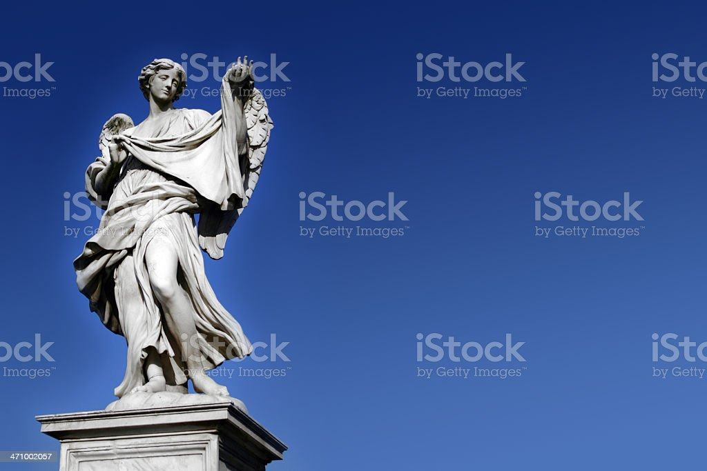 St. Angel royalty-free stock photo