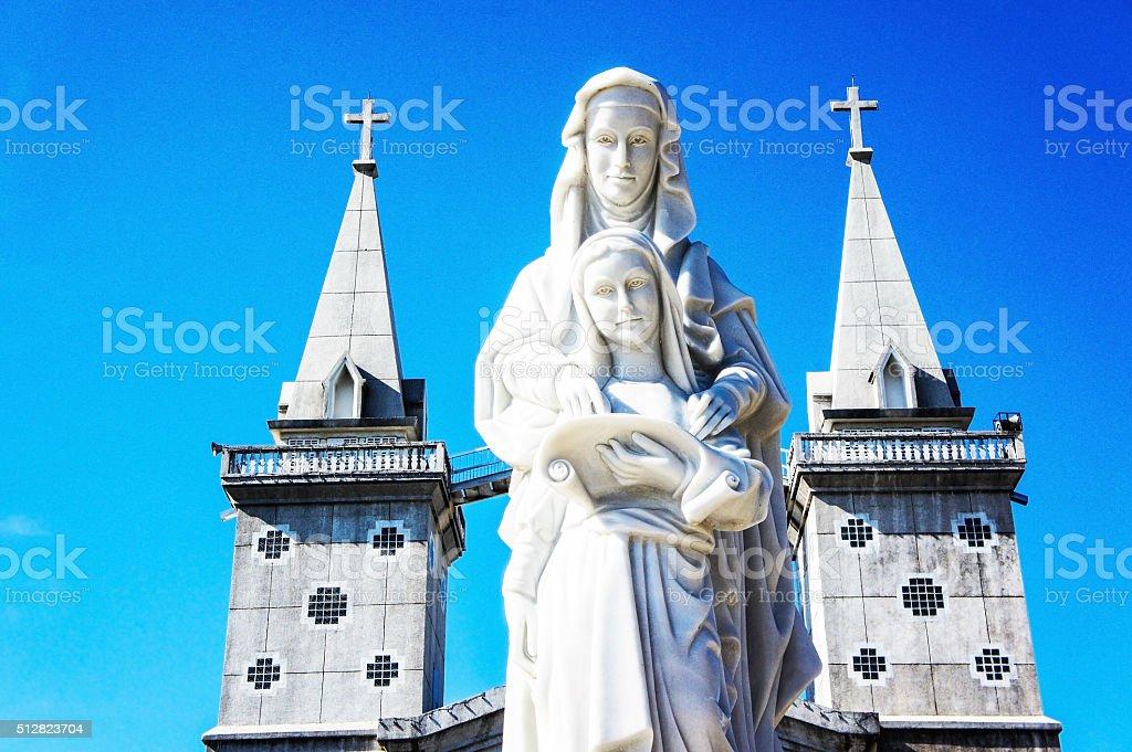 St. Anna's Church Nong Saeng stock photo