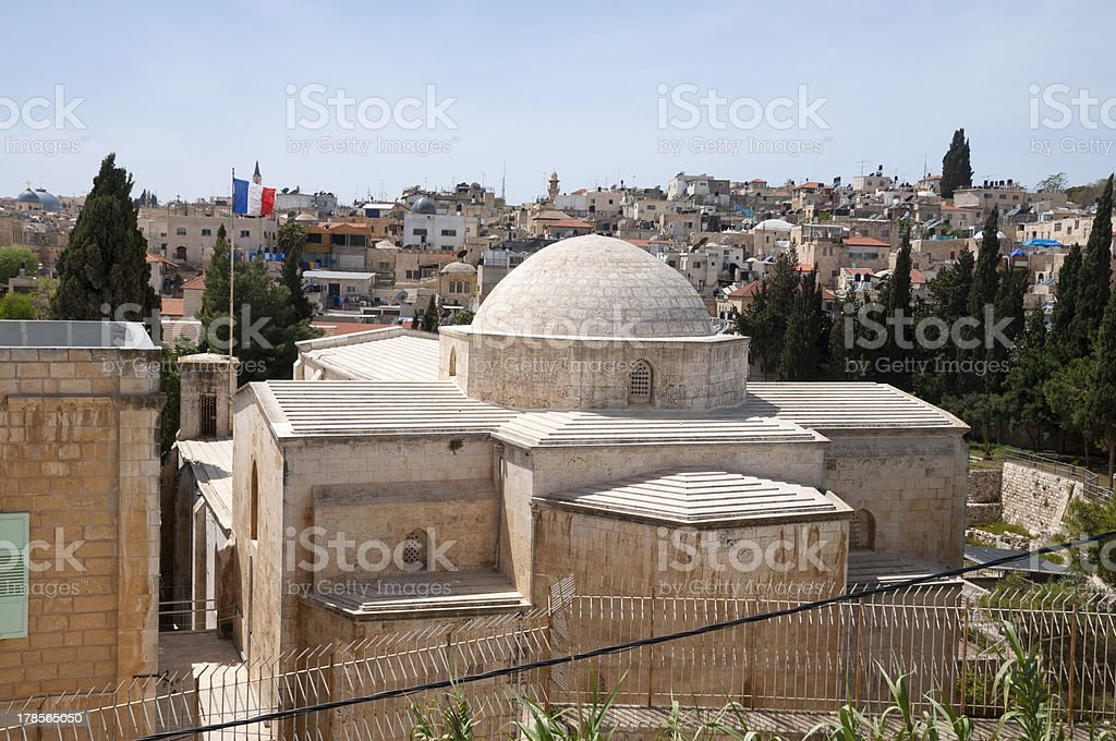 St. Anne's Church, Jerusalem royalty-free stock photo