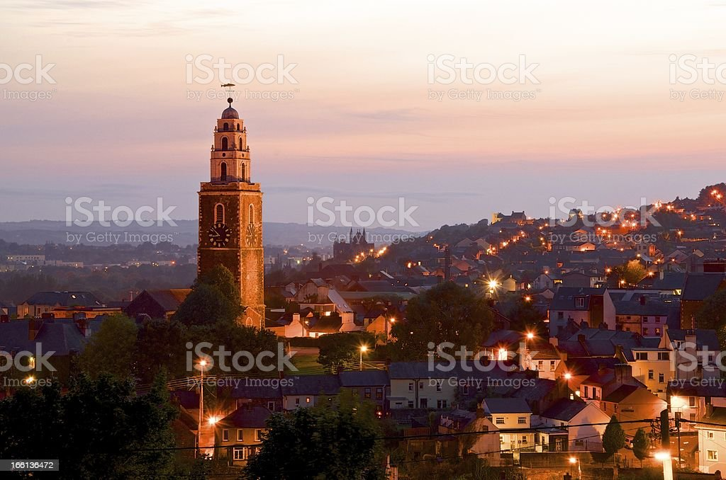 St. Anne's Church, Shandon, Cork royalty-free stock photo