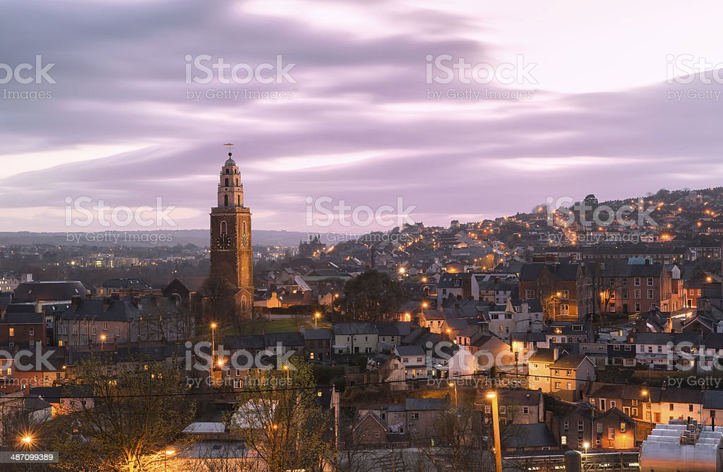 St. Anne's Church, Shandon, Cork stock photo