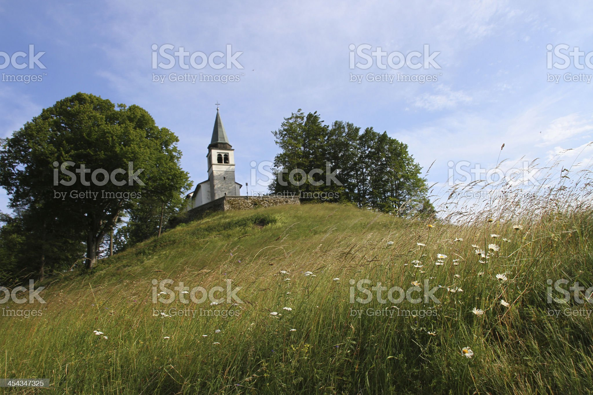 St. Anton Church Lokve royalty-free stock photo