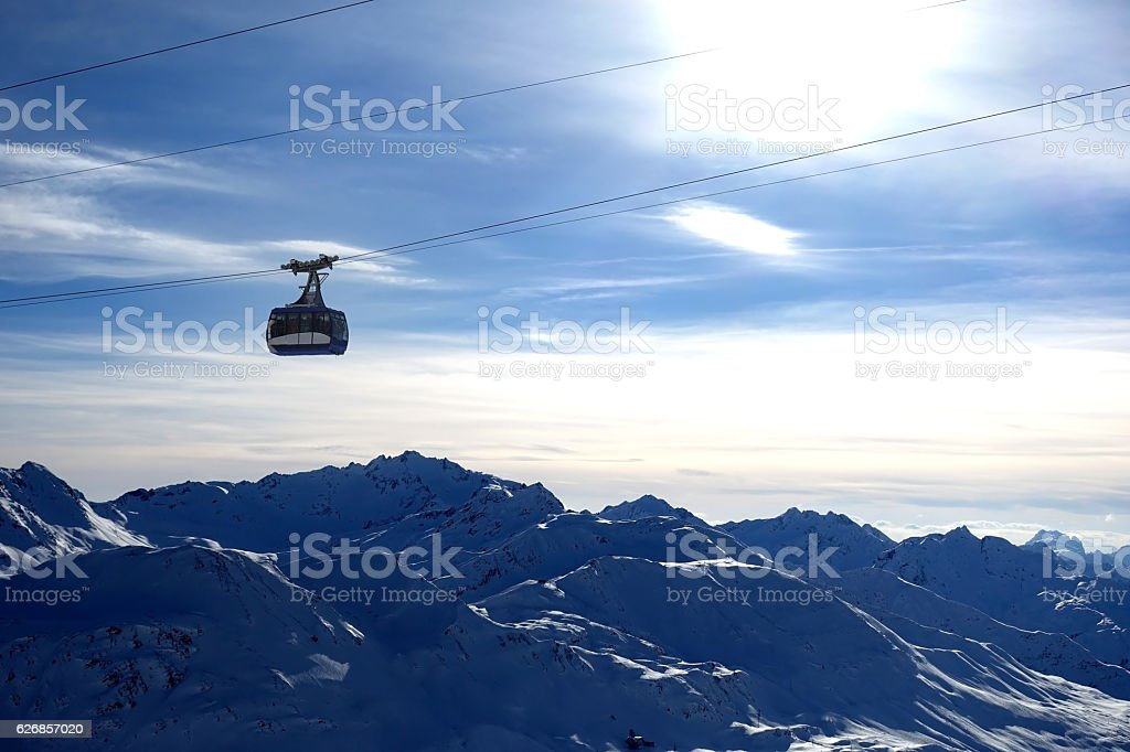St Anton Skiing stock photo