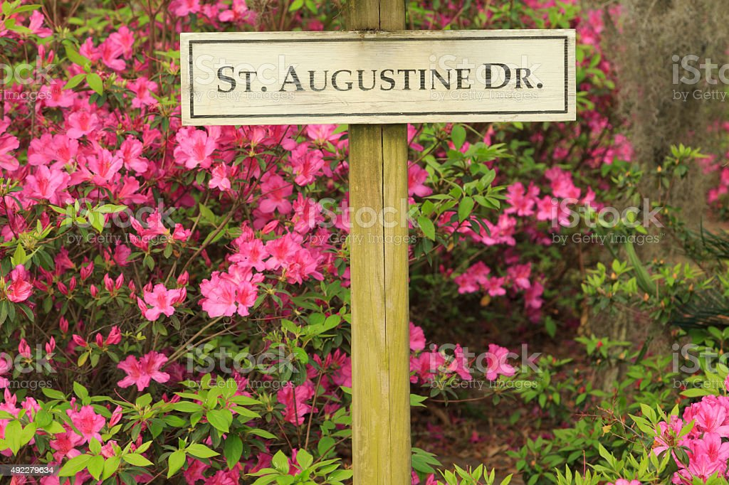 St Augustine Drive stock photo
