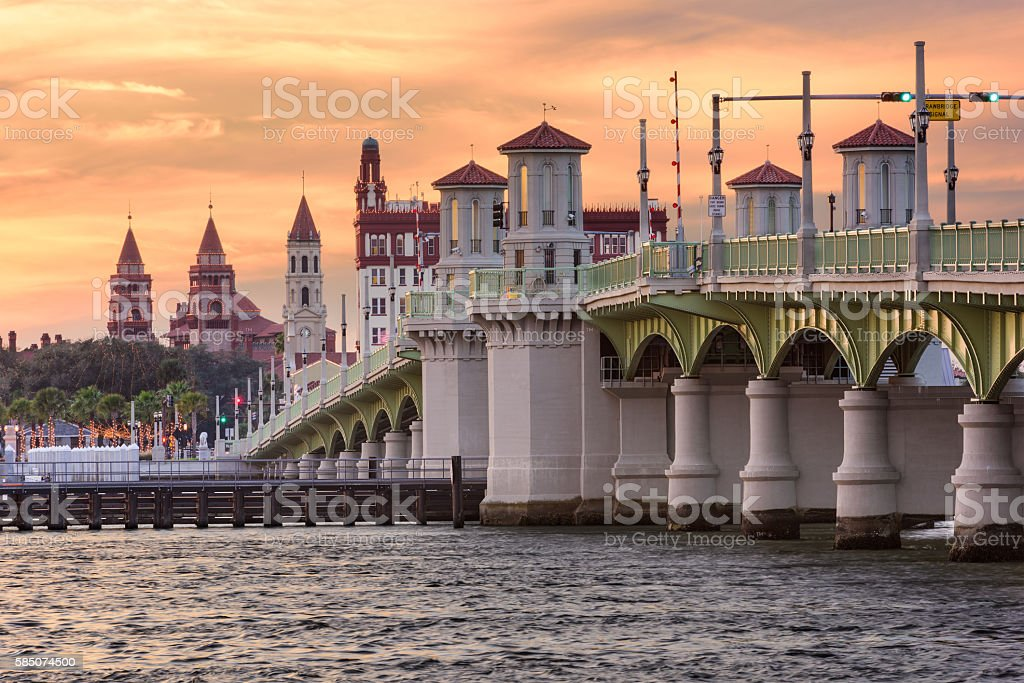 St. Augustine, Florida stock photo