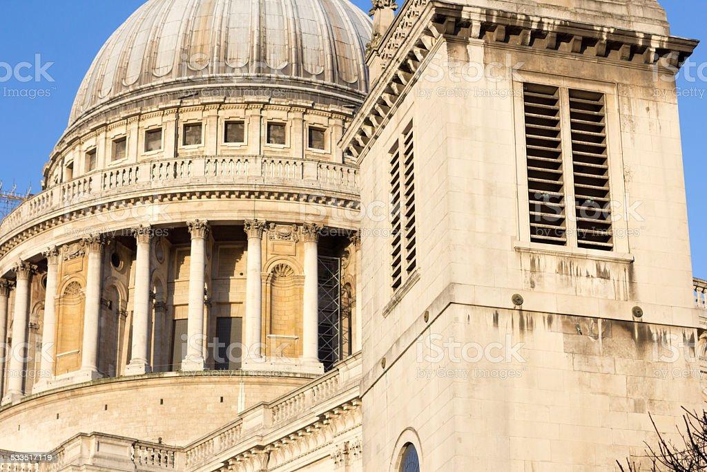 St Augustine Watling Street in City of London, England stock photo