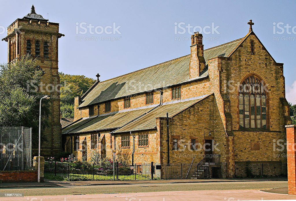 St Bartholomew's church. royalty-free stock photo