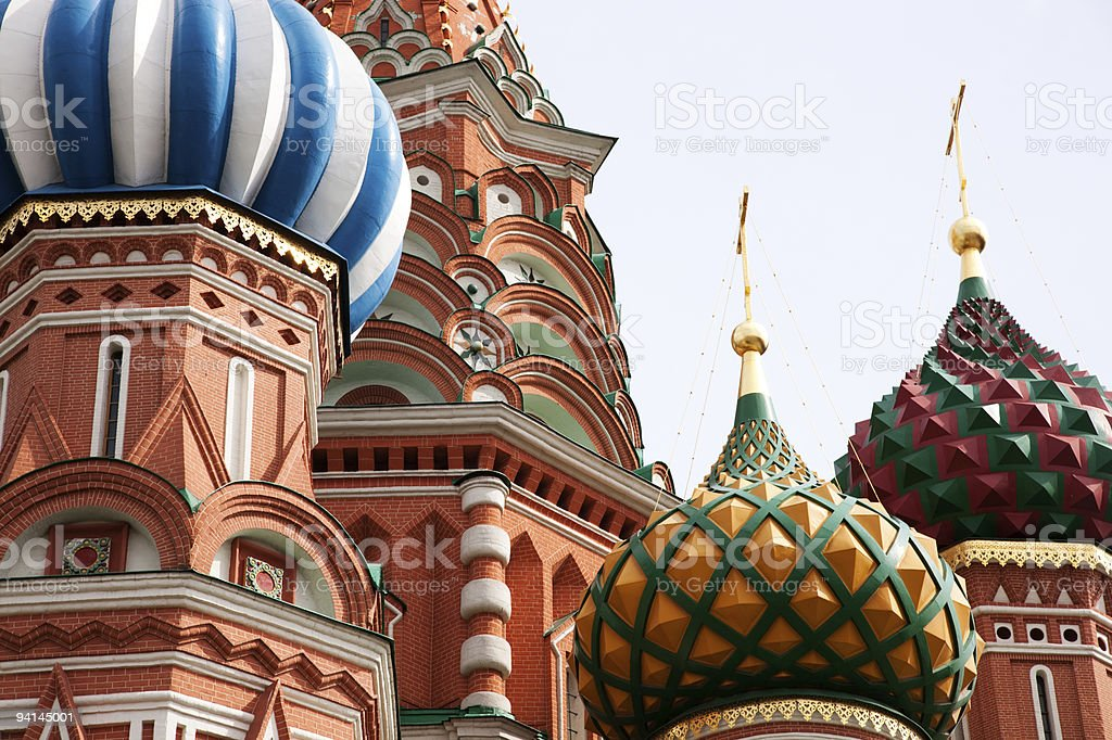 St. Basil Cathedral. Moscow.Russia royalty-free stock photo