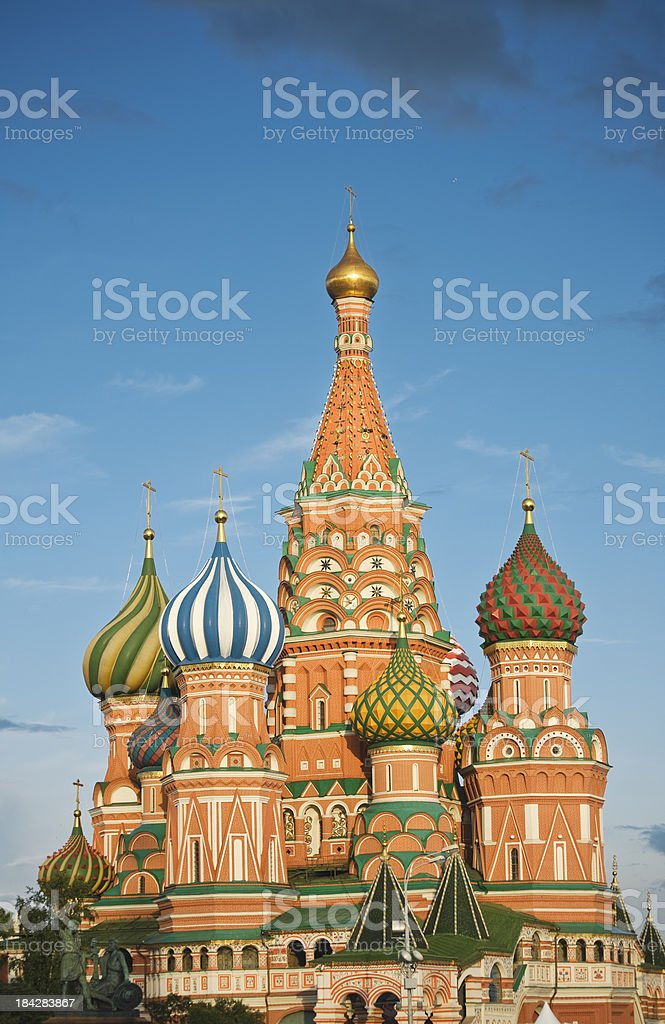 St Basil's Cathedral, Red Square, Moscow, Russia royalty-free stock photo