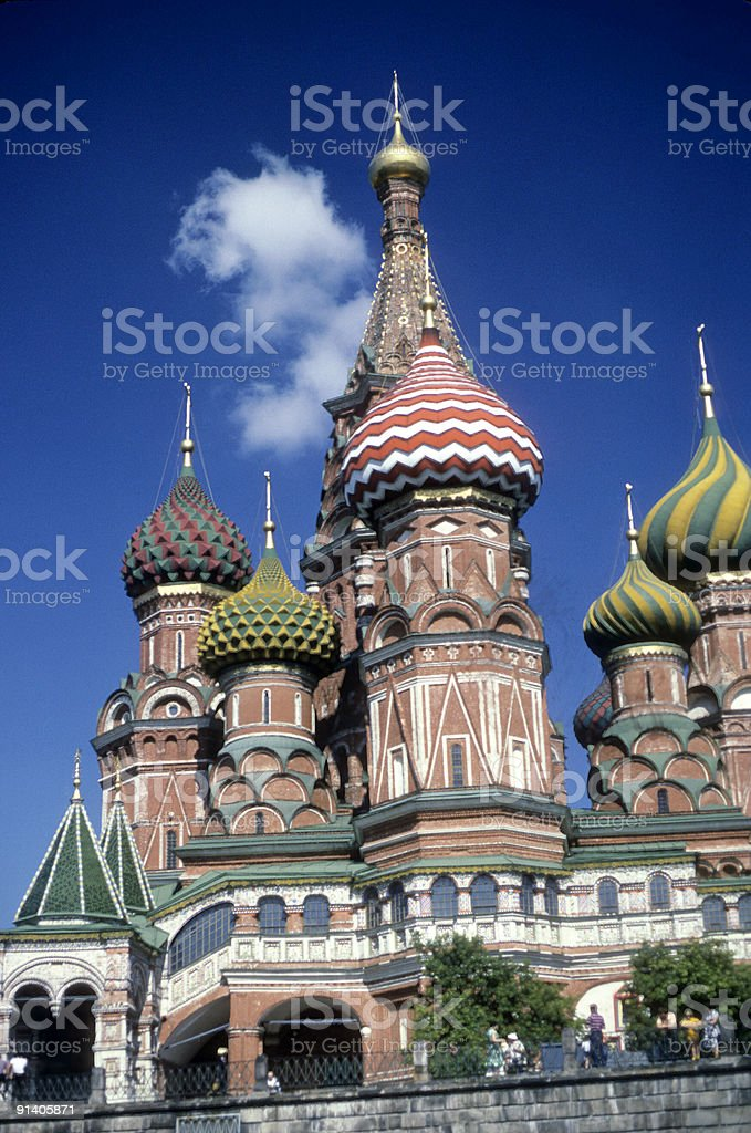 St. Basil's, Red Square stock photo