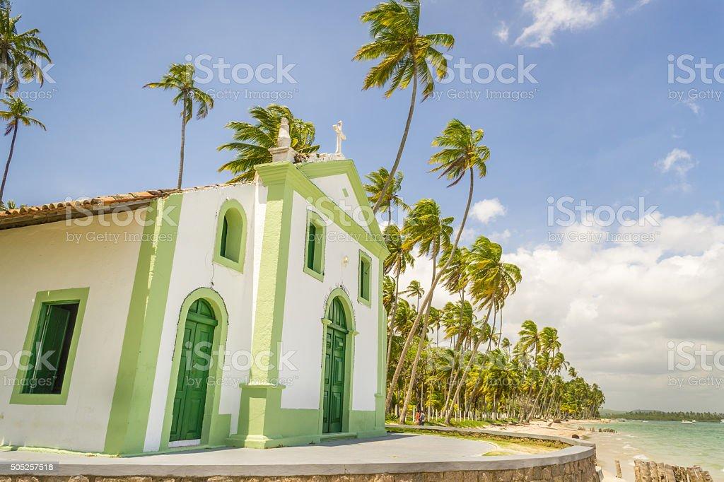 St. Benedict Church stock photo
