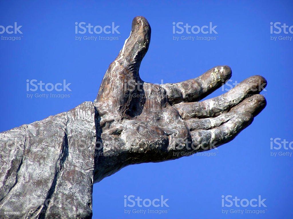 St. Benedict's Hand royalty-free stock photo