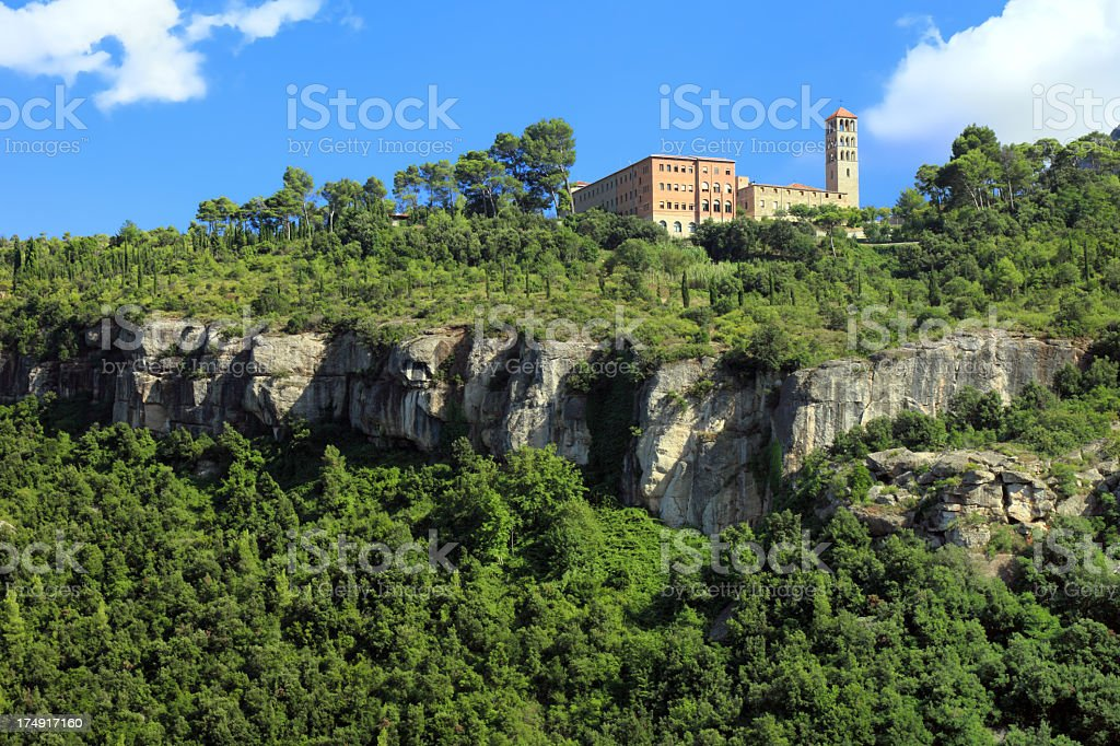 St. Benet monastery royalty-free stock photo