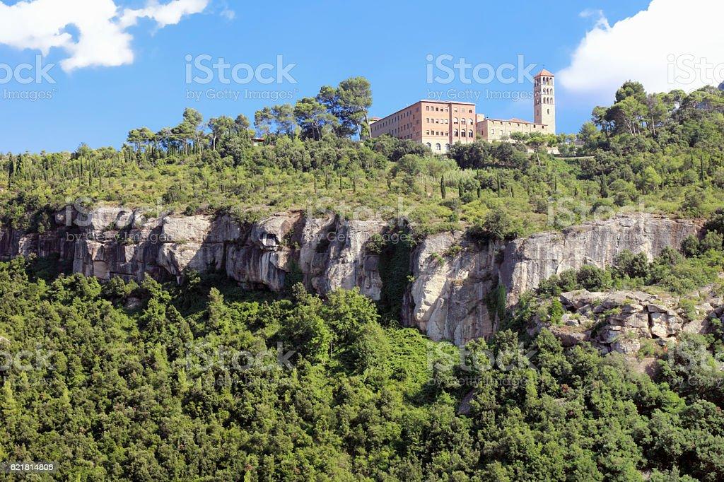 St. Benet monastery stock photo