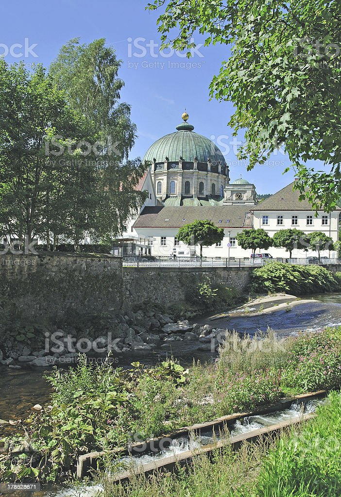 St. Blasien Cathedral,Black Forest,Germany royalty-free stock photo