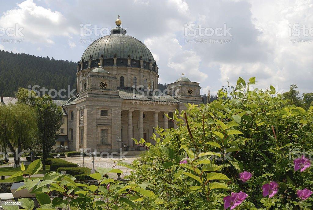 St. Blasien royalty-free stock photo