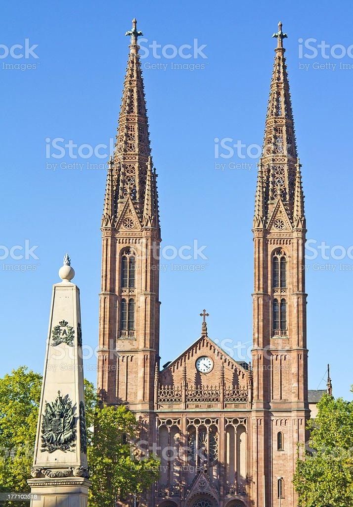 聖 Bonifatius 教会 ロイヤリティフリーストックフォト