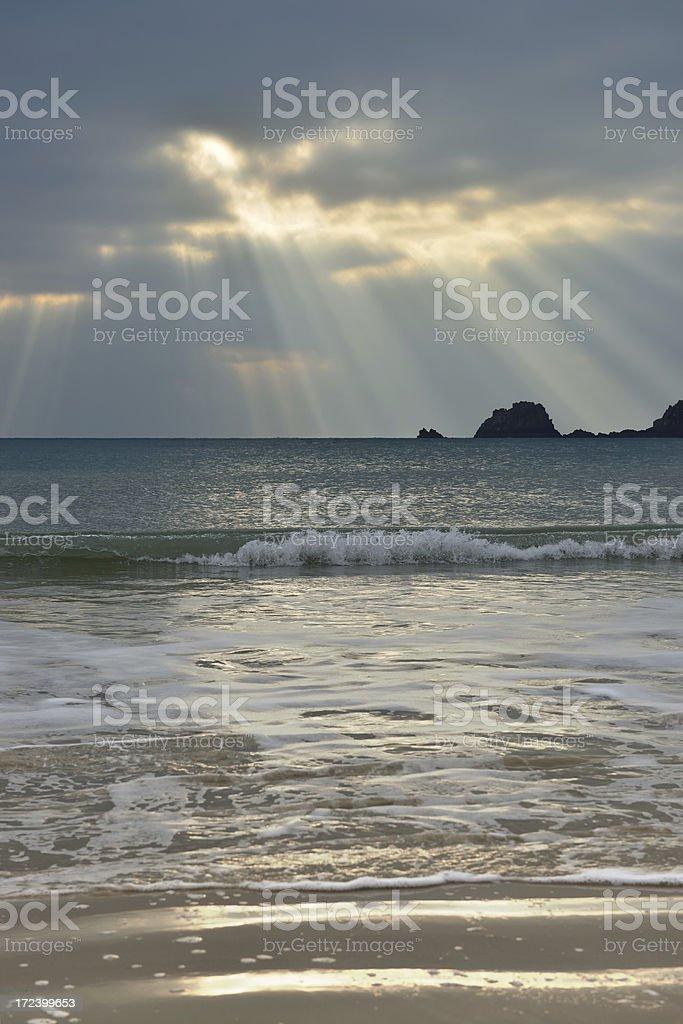 St Brelade's bay. royalty-free stock photo