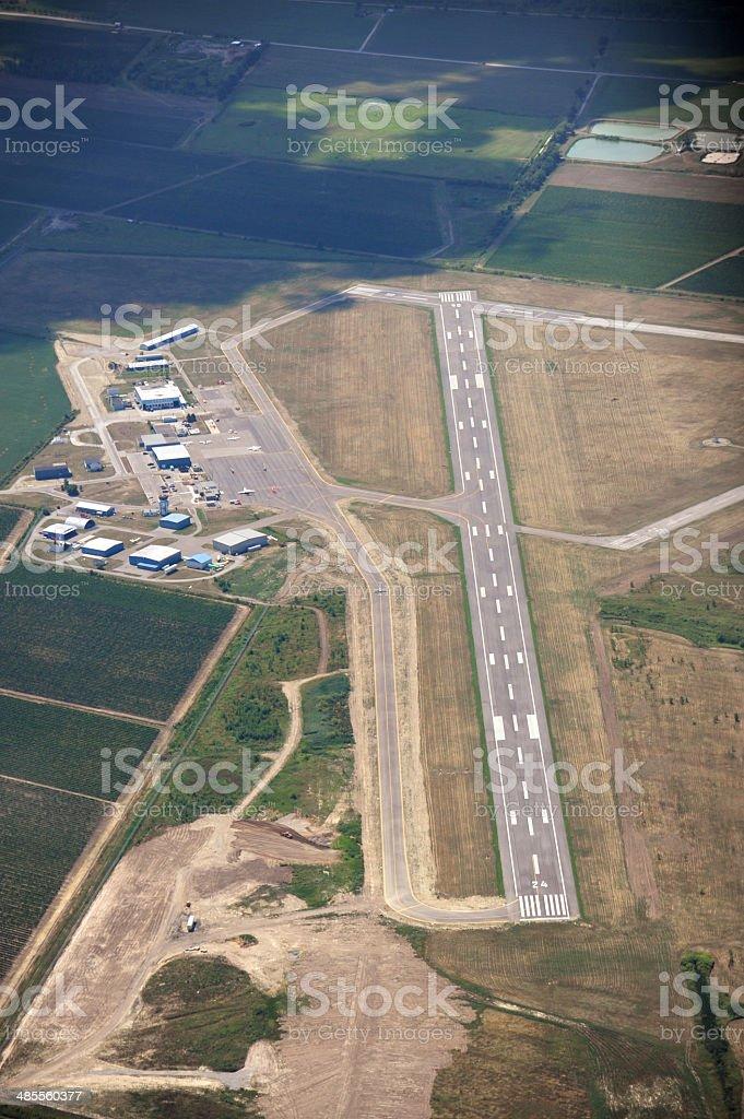 St. Catharines Airport, Ontario stock photo