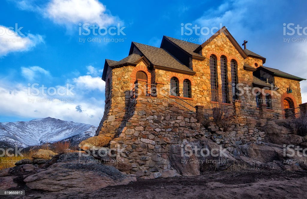 St Catherine of Sienna Chapel at the St Malo Retreat stock photo