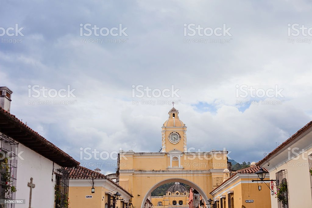 Arca de San Catalina stock photo