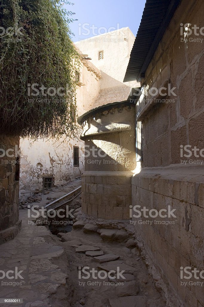 St. Catherine's Monastery stock photo