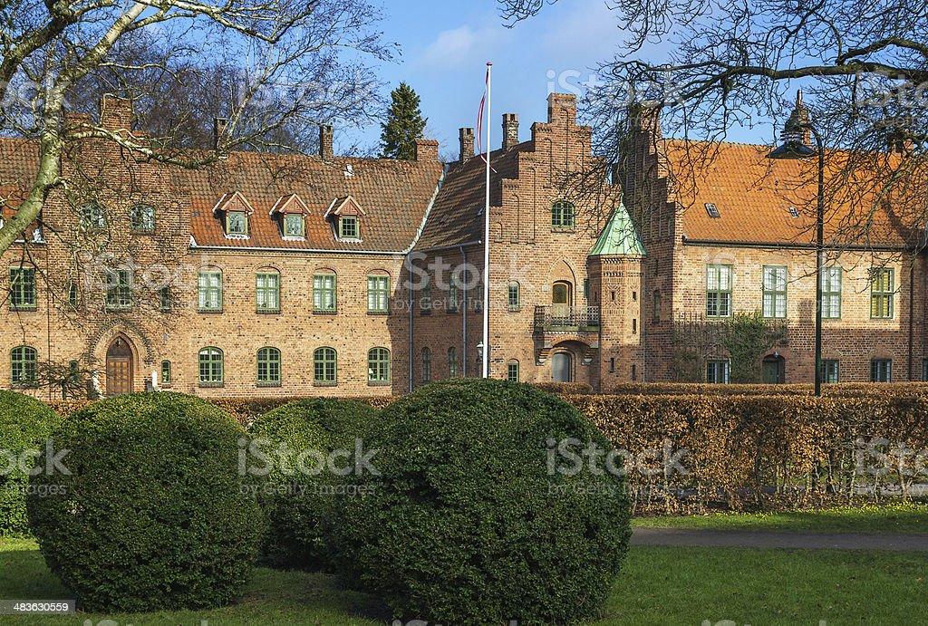 St. Catherine's Priory, Roskilde stock photo