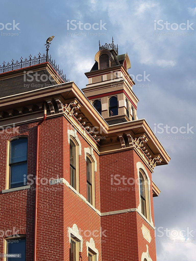 St. Charles Historic District stock photo