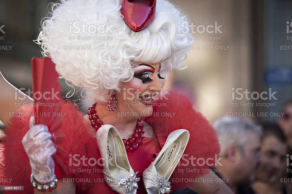 St. Christopher Street Day parade in Stuttgart 2009 royalty-free stock photo