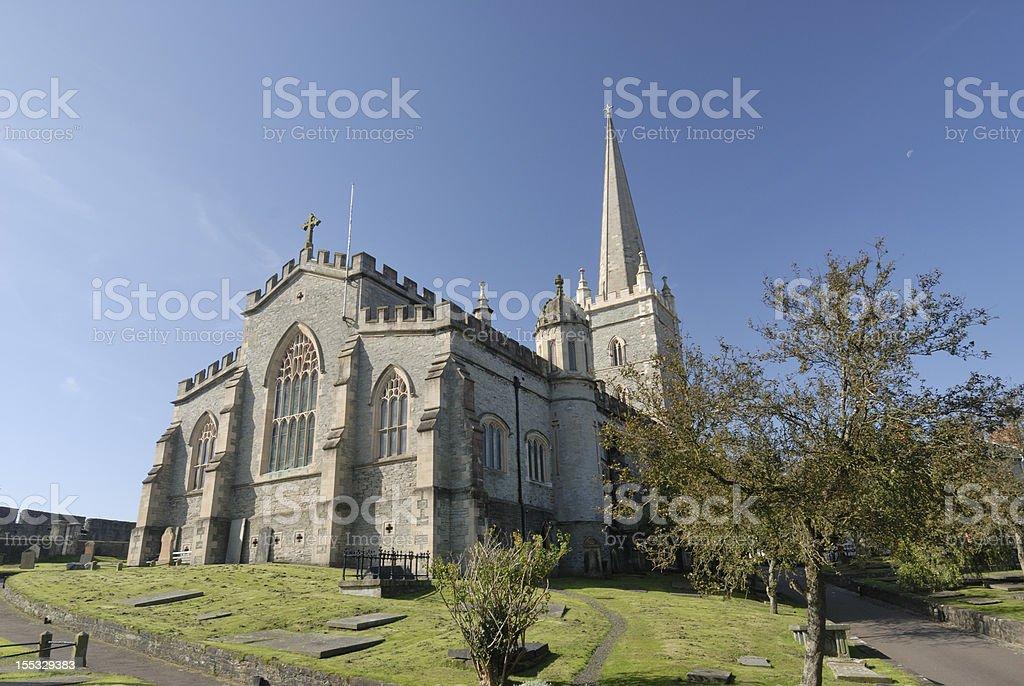 St Columb's Londonderry stock photo