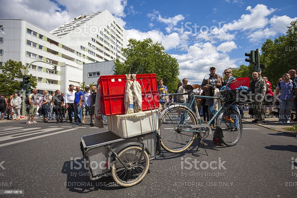 St Cristopher Street day parade in central Berlin royalty-free stock photo