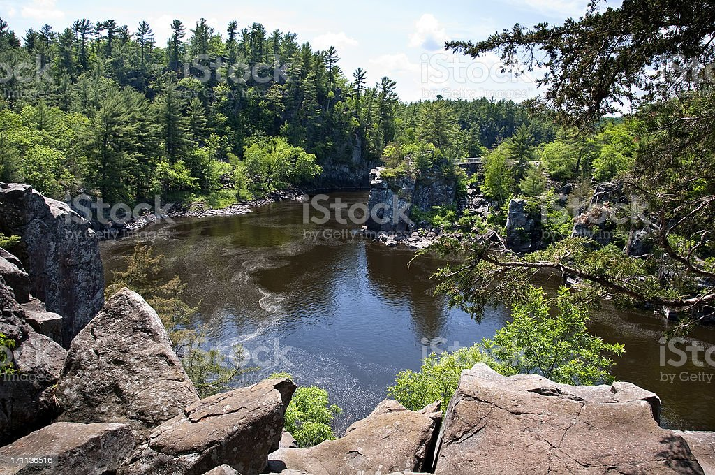 St. Croix River royalty-free stock photo