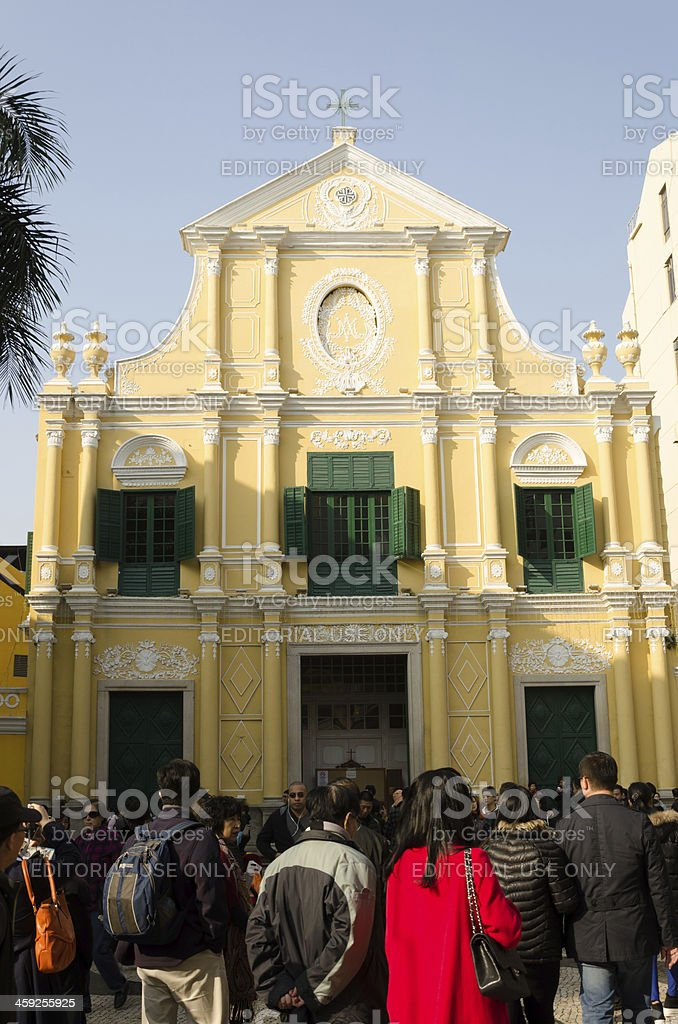 St. Dominic's Church stock photo