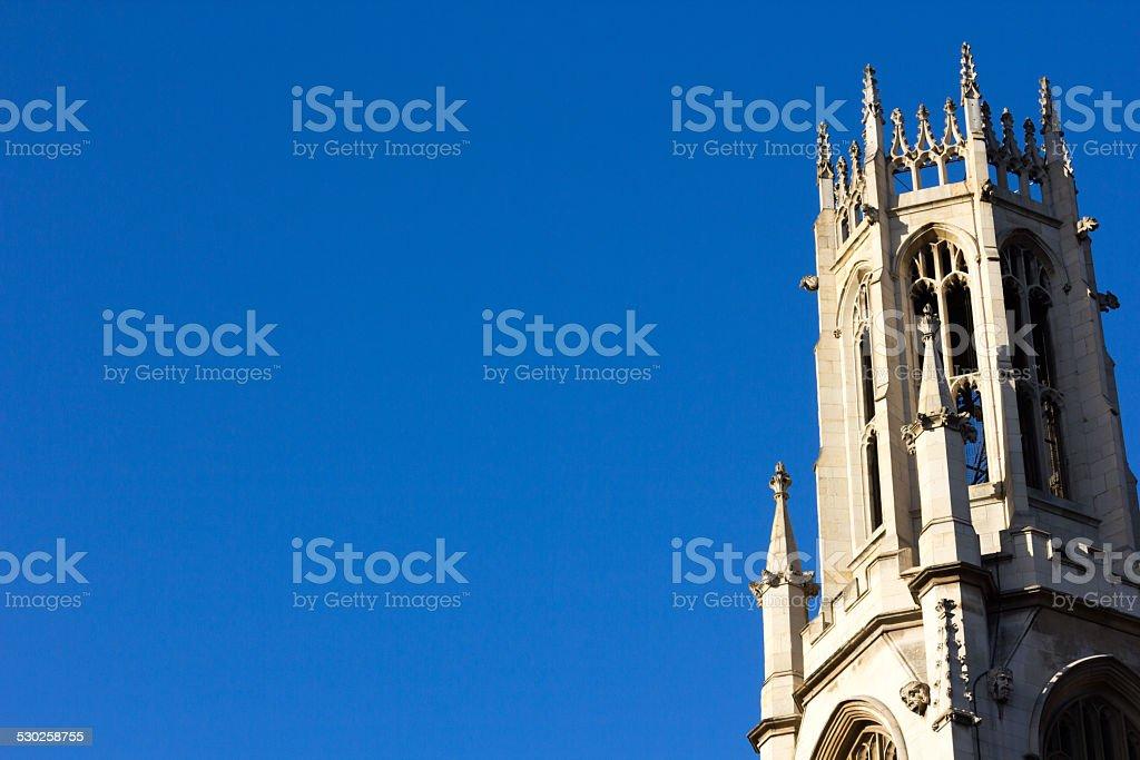 St Dunstan-in-the-West in Fleet Street, London stock photo