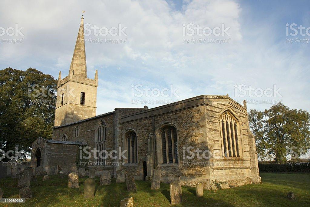 St Edmund's Church in Egleton, Rutland, Leicestershire stock photo